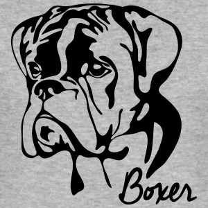 BOXER PORTRAIT - Men's Slim Fit T-Shirt