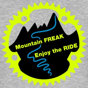 Mountain Freak - Männer Slim Fit T-Shirt