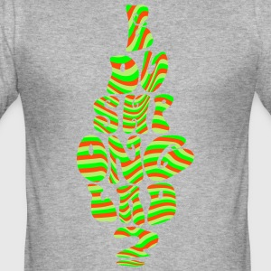 E du shponglad? - Slim Fit T-shirt herr