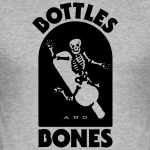 Bottle Sand Bones - Herre Slim Fit T-Shirt