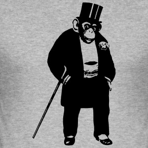 ape Swagg - Slim Fit T-skjorte for menn