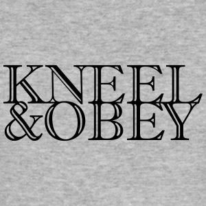 Kneel & Obey - Männer Slim Fit T-Shirt