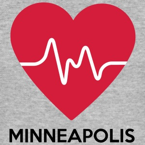 coeur Minneapolis - Tee shirt près du corps Homme