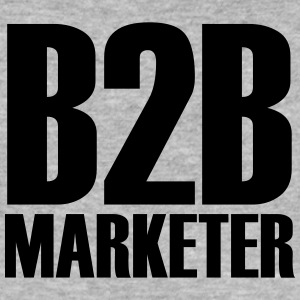 B2B - Marketer - Der Business-Profi im Marketing - Männer Slim Fit T-Shirt