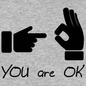 you are ok (sex, funny) - slim fit T-shirt
