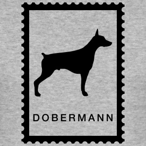 Briefmarke Dobermann - Männer Slim Fit T-Shirt