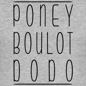 Pony Boulot Dodo - Slim Fit T-shirt herr
