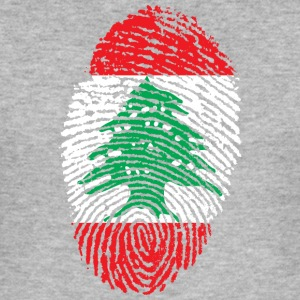 IN LOVE WITH LEBANON - Men's Slim Fit T-Shirt