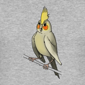 Cockatiel bird cage canary birds - Men's Slim Fit T-Shirt