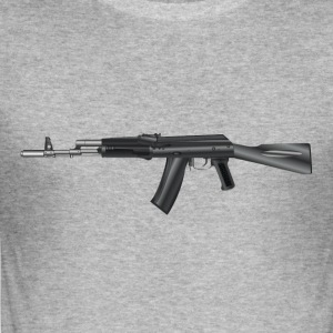 AK 47 - Männer Slim Fit T-Shirt