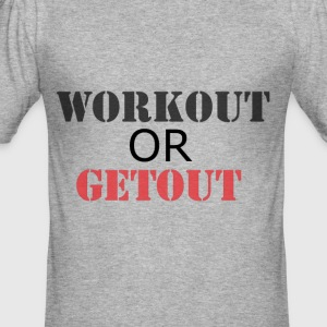 Training of GETOUT - slim fit T-shirt