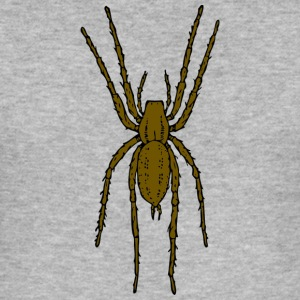 Brown spider - Tee shirt près du corps Homme