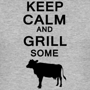 keep calm and grill some cows - Männer Slim Fit T-Shirt
