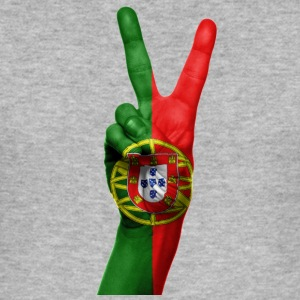 PORTUGAL NY KOLLEKTION - Slim Fit T-shirt herr