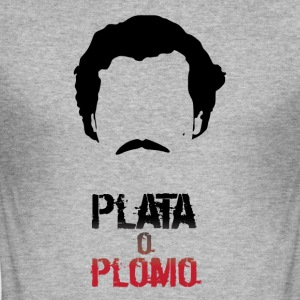 Pablo: plata or plomo - Men's Slim Fit T-Shirt