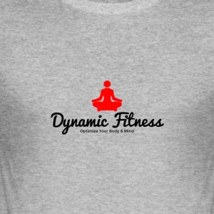 Dynamic Fitness Yoga - Men's Slim Fit T-Shirt