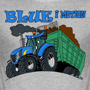 Blue in motion - Men's Slim Fit T-Shirt
