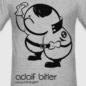 ADOLF Bitler - Slim Fit T-shirt herr