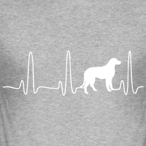 ECG HART LINE LABRADOR wit - slim fit T-shirt