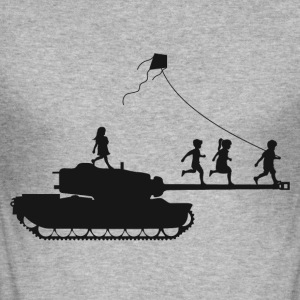 TANK CHILDREN - Men's Slim Fit T-Shirt