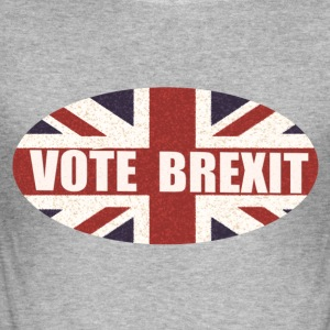 Vote Brexit - Men's Slim Fit T-Shirt