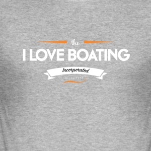 boating_logo_1 - Tee shirt près du corps Homme