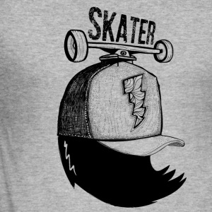 skater - Tee shirt près du corps Homme