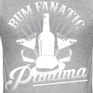 T-shirt Rum Fanatic - Panama - Slim Fit T-shirt herr