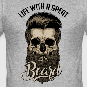 Great Beard - Men's Slim Fit T-Shirt