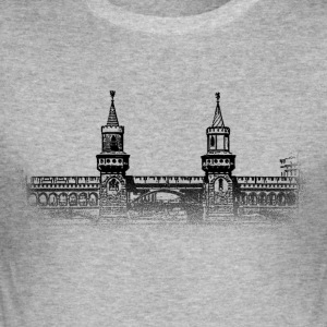 Around The World: Oberbaumbrücke - Berlin - Männer Slim Fit T-Shirt