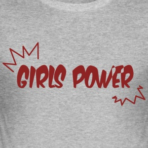 Girls Power - Men's Slim Fit T-Shirt