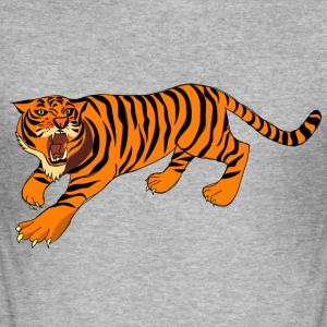 tiger - Slim Fit T-shirt herr