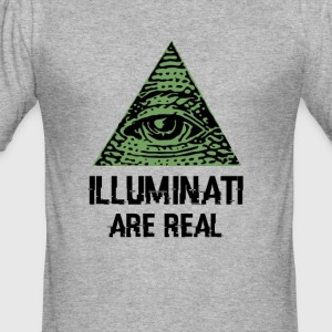 Illuminati - Men's Slim Fit T-Shirt