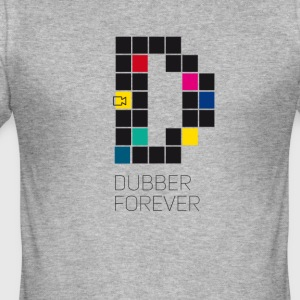 dub dubber forever Music Video Game Trend d pixel - slim fit T-shirt