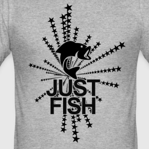 Just Fish - Men's Slim Fit T-Shirt