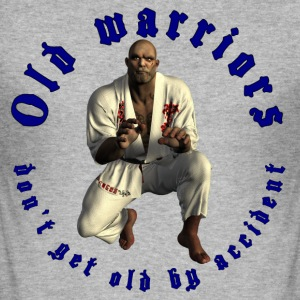Jiu-Jitsu Old Warrior - Slim Fit T-shirt herr