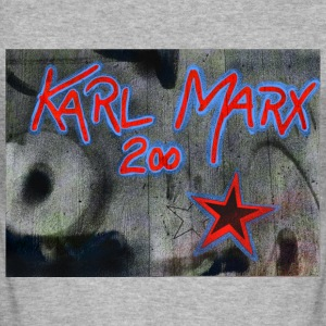 Marx grafitti - Herre Slim Fit T-Shirt