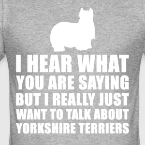 Grappig Yorkshire Cadeau Idee - slim fit T-shirt