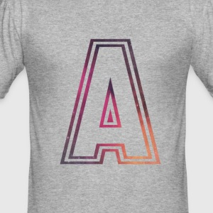 Fame Allstars Alphabet - Men's Slim Fit T-Shirt