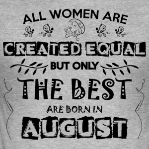 Woman Birthday August - Men's Slim Fit T-Shirt