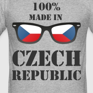 Made in czech republic - Men's Slim Fit T-Shirt