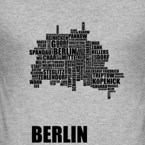 Berlin Distrikt - Slim Fit T-shirt herr