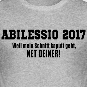 ABILESSIO - Slim Fit T-skjorte for menn
