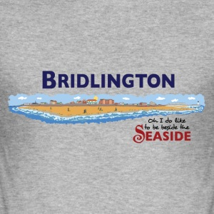 Bridlington Seaside - Herre Slim Fit T-Shirt