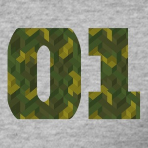 "Camo ""ONE"" - Slim Fit T-shirt herr"
