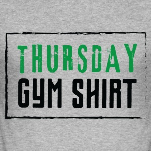 Torsdag gym tröja - Slim Fit T-shirt herr