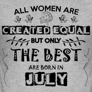 Woman Birthday July - Men's Slim Fit T-Shirt