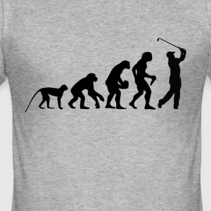 Evolution golfere - Slim Fit T-skjorte for menn
