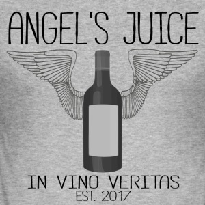 ANGEL S juice - i vino veritas - Slim Fit T-shirt herr