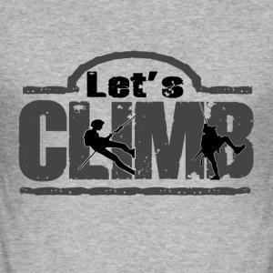 Let and climbing - Men's Slim Fit T-Shirt